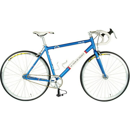Cycle Force Tour de France Stage One Vintage Blue 45cm Fixed Gear Bicycle