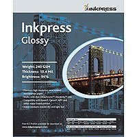 Inkpress PCUG131920 Commercial Glossy Inkjet Paper 13in. X 19in. 20 Sheets