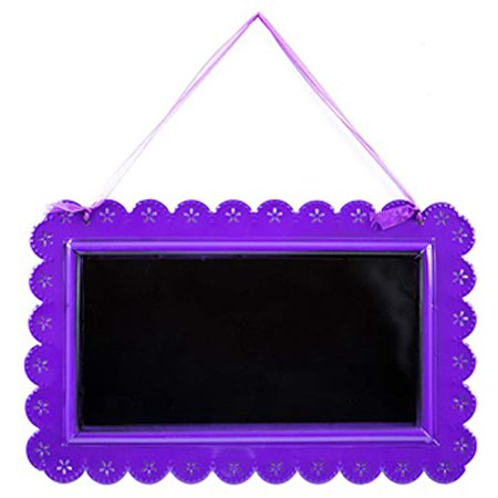 Purple Metal Chalkboard with Scalloped Edge Party Supplies All Occasion Parties Birthday Wedding Sweet 16