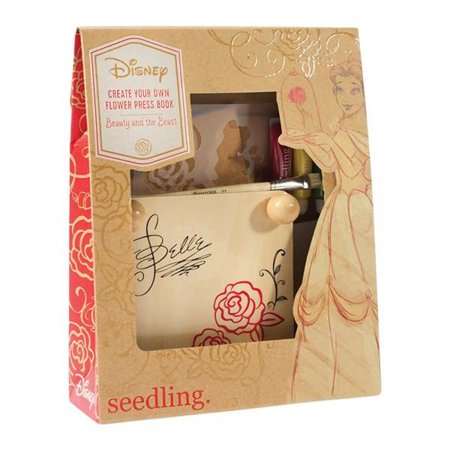 Seedling Disney's Beauty And The Beast Create Your Own Flower Press Book Kit ()