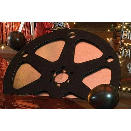 2 ft. 6 in. Hollywood Premiere Film Reel - Film Reel Decoration