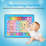 Brrnoo Children Tablet Toy,Baby Kids Touch Screen Learning English Machine Tablet Early Educational Toy, Learning Tablet Toy