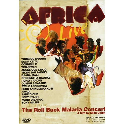 Africa Live: The Roll Back Malaria Concert (Widescreen)