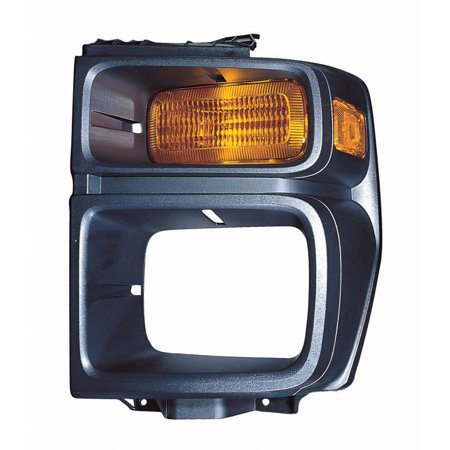 2008-2016 Ford E-150  Aftermarket Driver Side Front Parking Lamp Lens 8C2Z13201B (Ford Lens)