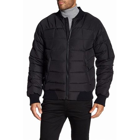 Rich Mens Small Bomber Puffer Coat S