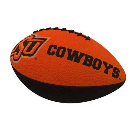 Oklahoma State University Combo Logo Junior Size Rubber Football