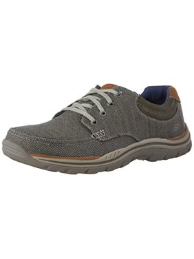 05c7ad2f06fe Product Image Men s Expected Orman 64695 OLV Olive Relaxed Fit Memory Foam.  SKECHERS