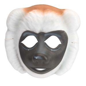 Sifaka Monkey Molded Foam Mask by Wild Republic - KM85676