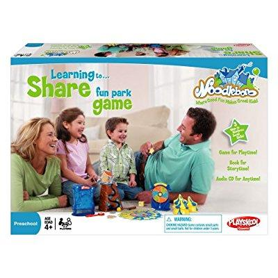 Playskool Noodleboro Learning to Share Fun Park Preschool Game