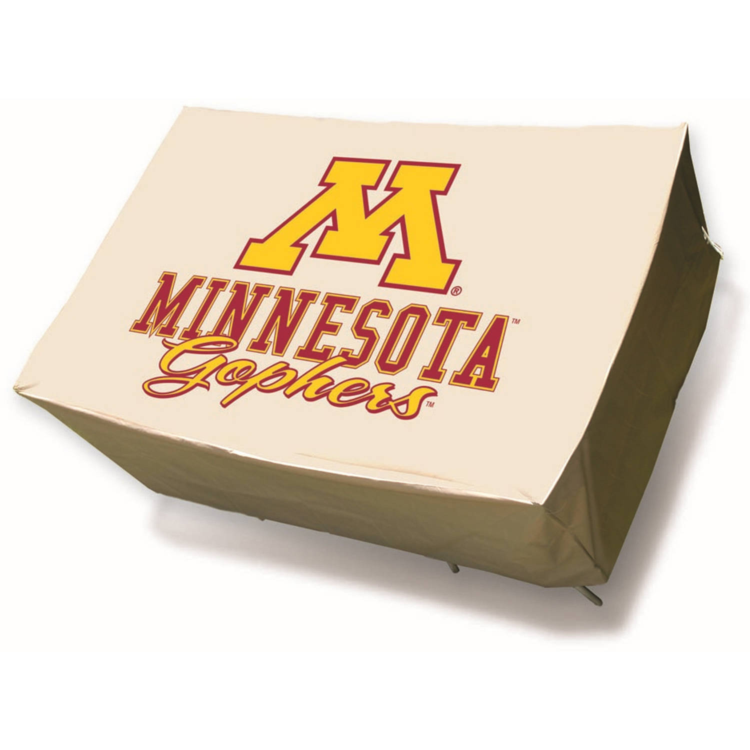 NCAA Mr. Bar-B-Q Rectangle Patio Table Cover, University of Minnesota Golden Gophers