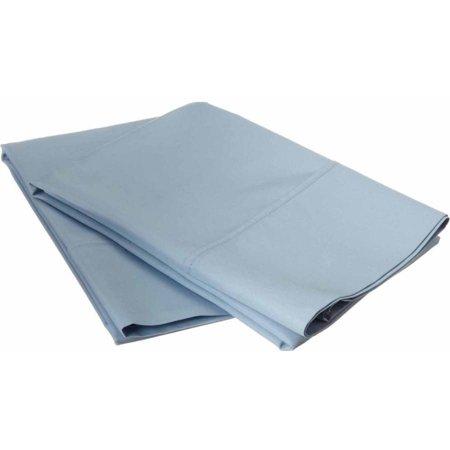 Ramie Cotton Blend (Superior 600 Thread Count Wrinkle Resistant Luxury Cotton Blend Solid Pillowcase Set)