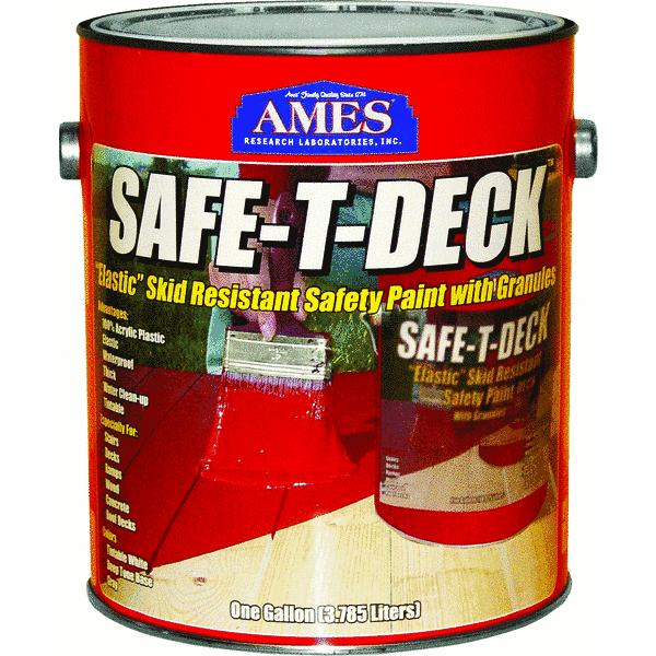 Ames Safe-T-Deck Elastomeric Waterproofing Sealer Deck Paint