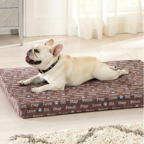 Tucker Murphy Pet Kamille Orthopedic Dog Mat with Egg Crate Memory Foam