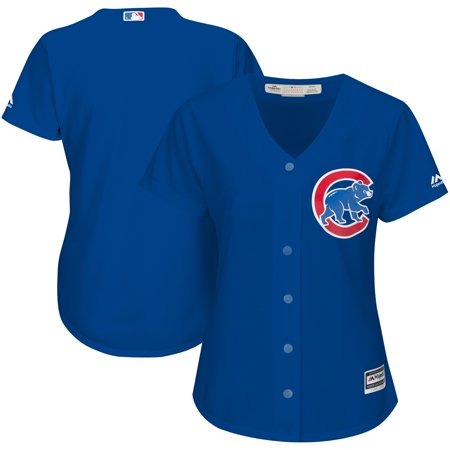 Chicago Cubs Majestic Womens Alternate Cool Base Jersey Royal