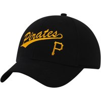 Men's Black Pittsburgh Pirates Basic Adjustable Hat - OSFA