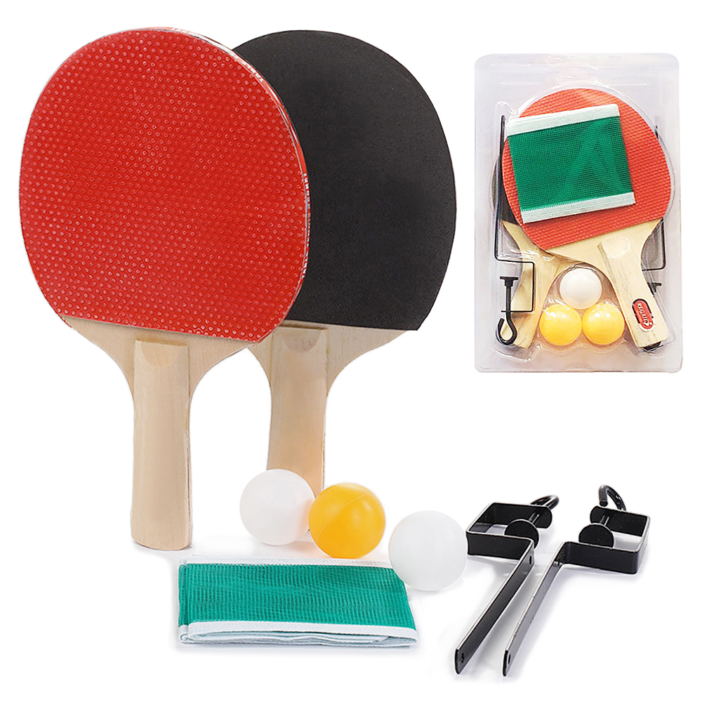 LIFERRI Portable Retractable Table Tennis Net,Ping Pong Post Net Rack Set,Adjustable Any Table Anywhere,Indoor Game Replacement Accessories
