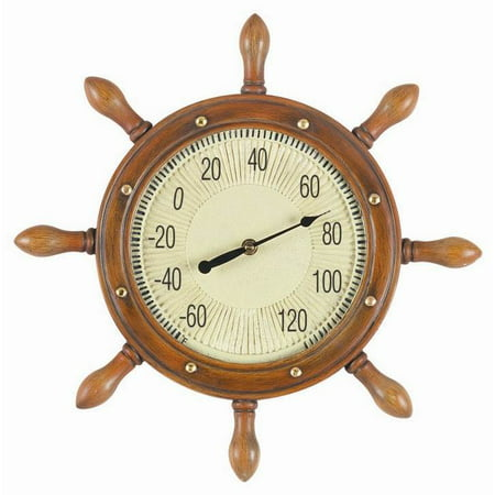 Captains Wheel Thermometer (16 in. with Captains Wheel)