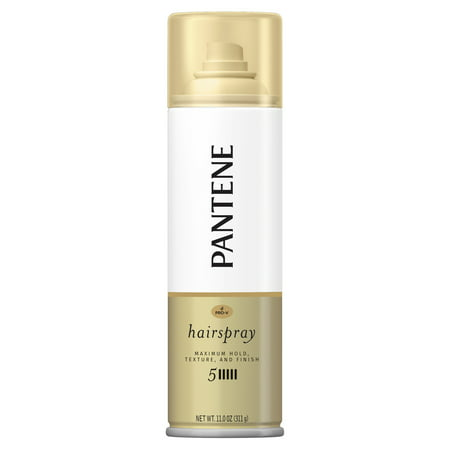 Pantene Pro-V Level 5 Maximum Hold Hairspray for Maximum Hold, Texture and Finish, 11 -