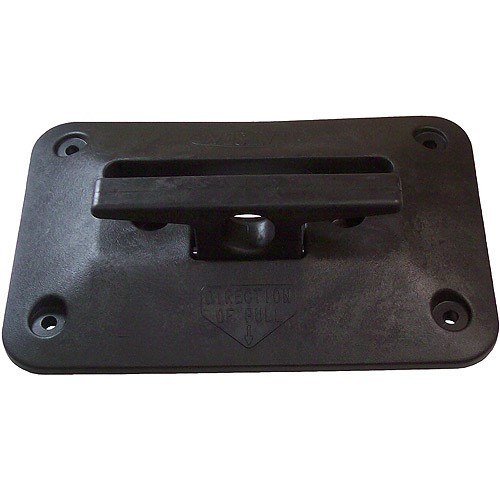 CIPA The Cleat Seat Retractable Dock Cleat, Solid Black