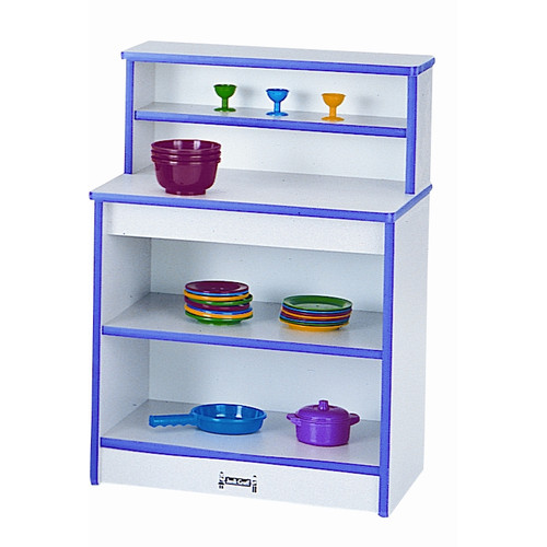 Rainbow Accents Toddler Cupboard-Color:Purple