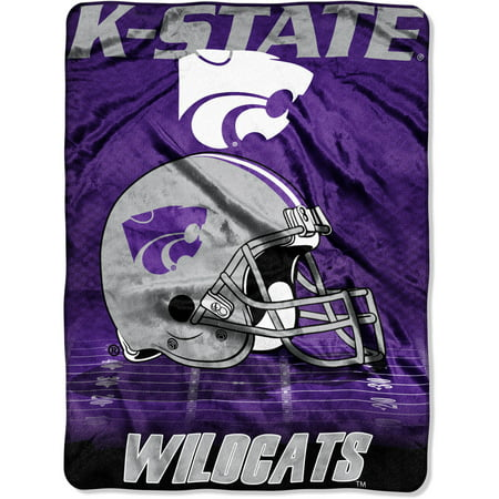"NCAA Kansas State Wildcats 60"" x 80"" Oversized Micro Raschel Throw, 1 Each"