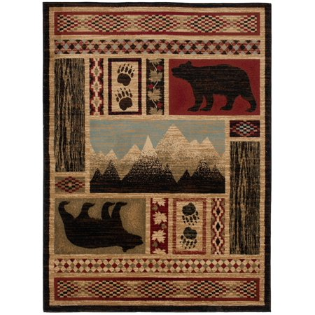 Mayberry Aspen AD8113 Lodge Indoor Area Rug