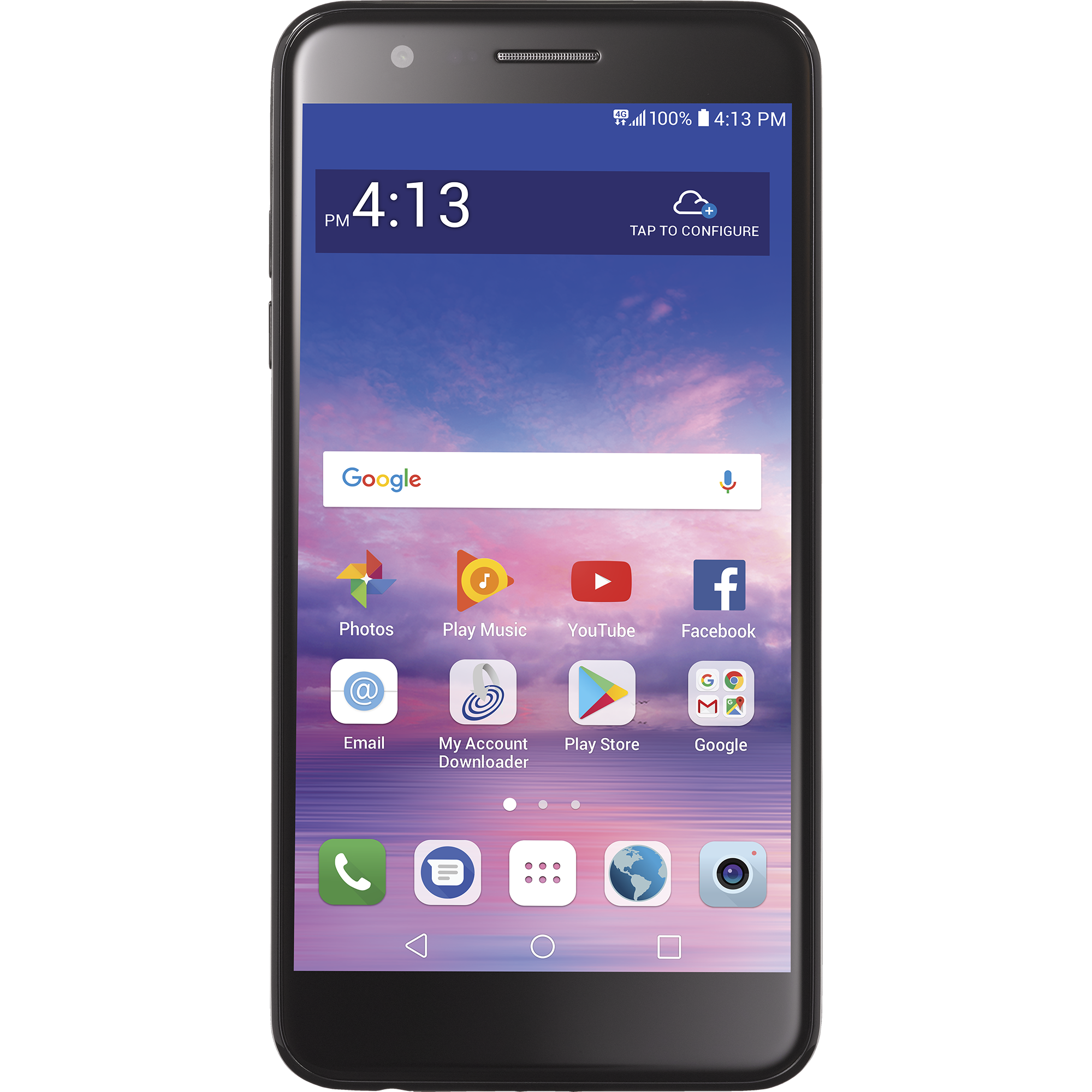 Total Wireless LG Premier Pro Prepaid Smartphone