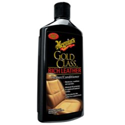 Meguiar's Gold Class Rich Leather Lotion – Cleans, Conditions & Protects for Complete Care – G7214, 14 oz