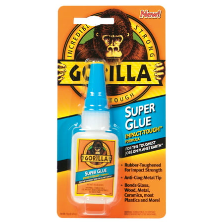 GORILLA SPGLU 15G BOTTLE (Best Ca Glue For Wood Turning)
