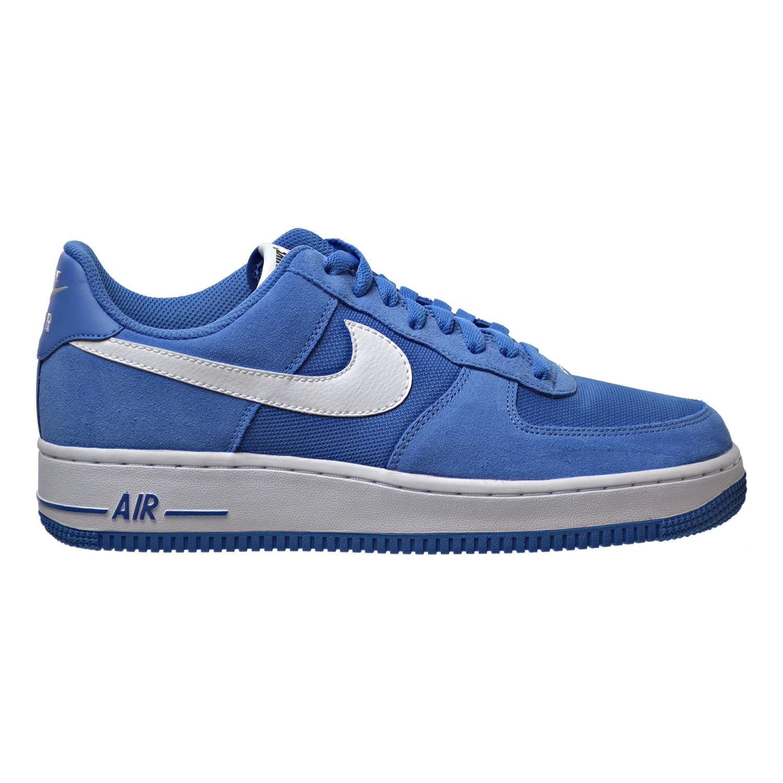 nike air force 1 scarpe da uomo stella blu / bianco 820266 402