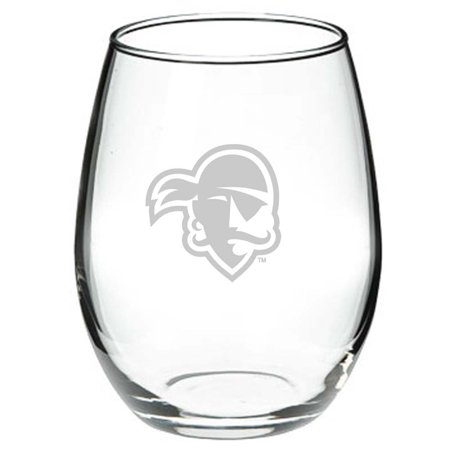 Seton Hall Crystal 15 oz Stemless Red Wine Glass 15 Crystal Cut Glass