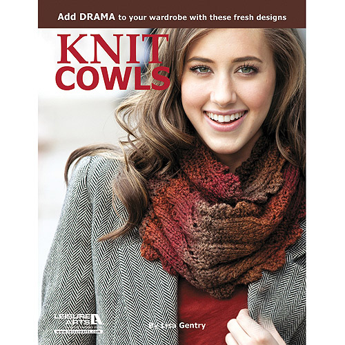 Leisure Arts-Knit Cowls: 10 Designs For Every Neck Multi-Colored