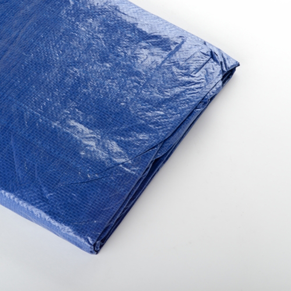10 Foot X 10 Foot Blue Tarp Tarpaulin Waterproof All Purpose Canopy Cover