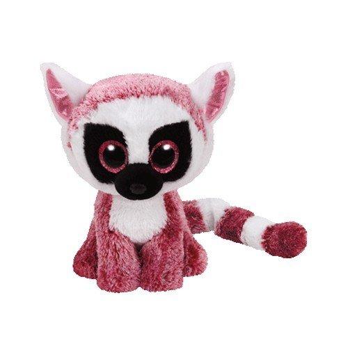 """Cp Usa TY Beanie Boos - Leeann the Lemur (Glitter Eyes) Small 6"""" Plush - image 1 of 1"""