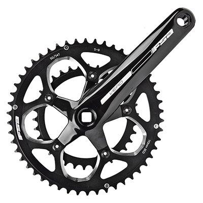 Full Speed Ahead Vero Crankset, 172x50/34, Black