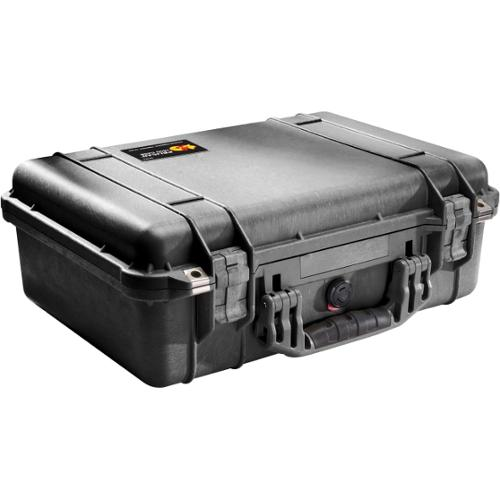 Pelican PELICAN PROTECTOR PROTECTOR CASE 1500 W/ FOAM BLACK - Crush Proof, Dust Proof - Stainless Steel, Copolymer - Han