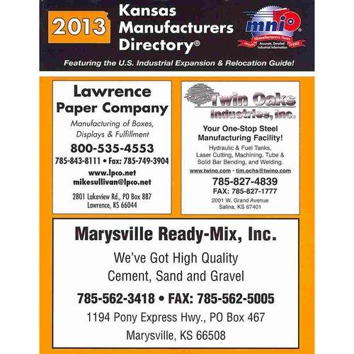 Kansas Manufacturers Directory 2013