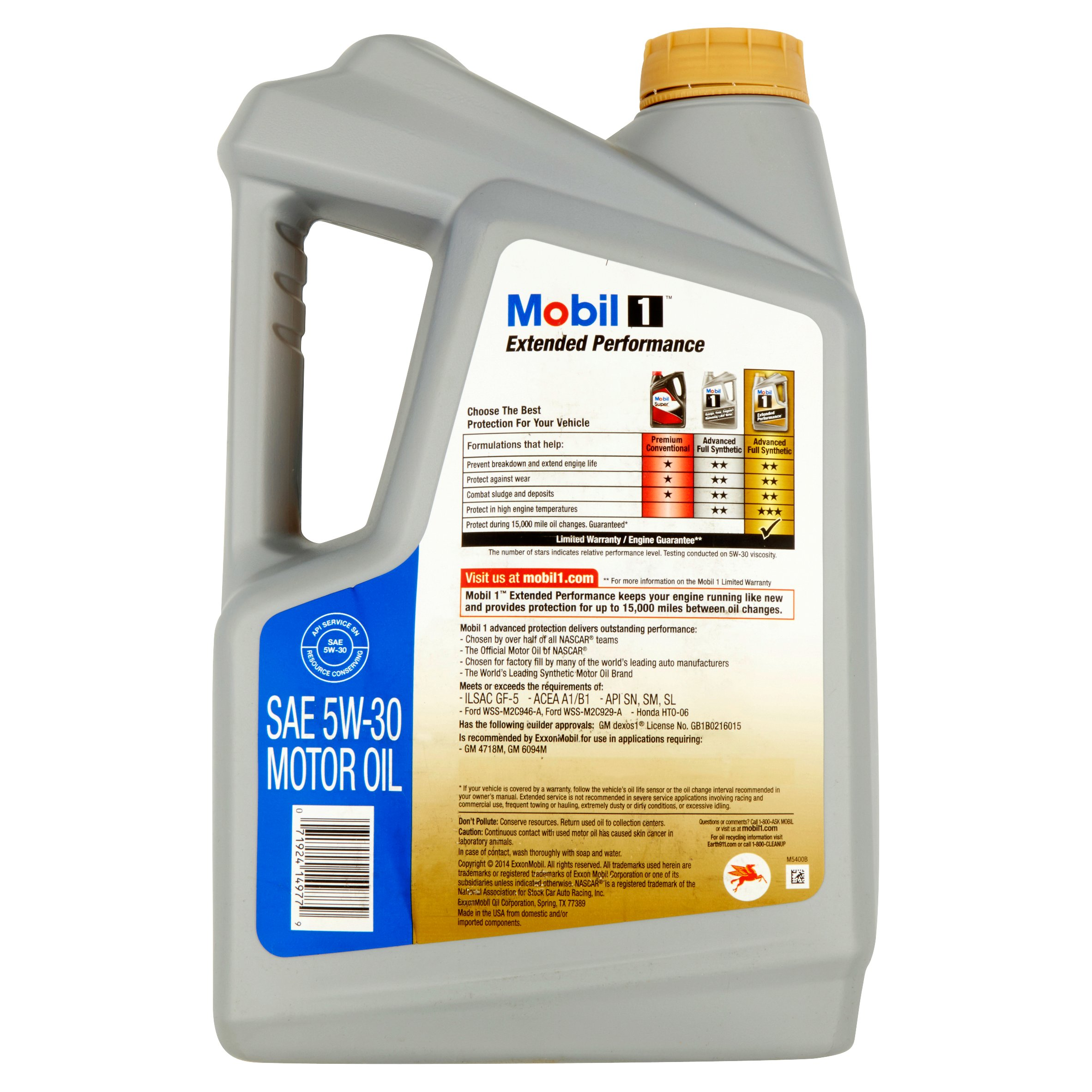 Mobil 1 5w 30 extended performance full synthetic motor oil 5 qt mobil 1 5w 30 extended performance full synthetic motor oil 5 qt walmart fandeluxe Image collections