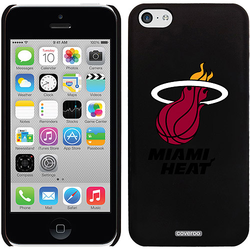 Miami Heat Design on iPhone 5c Thinshield Snap-On Case by Coveroo