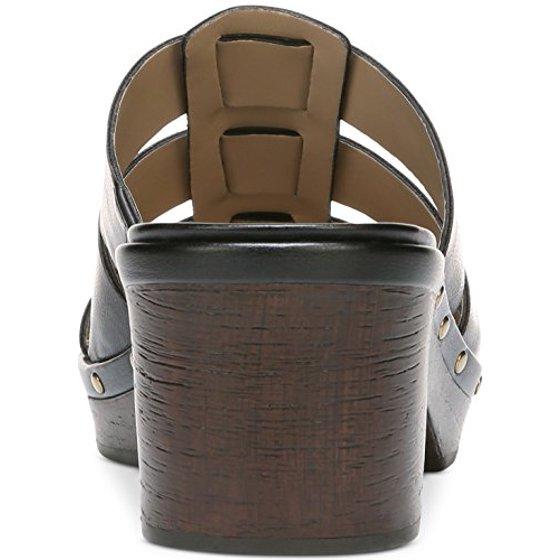 f7636df7b7f4 Naturalizer - Womens Gramercy Open Toe Casual Mule Sandals - Walmart.com