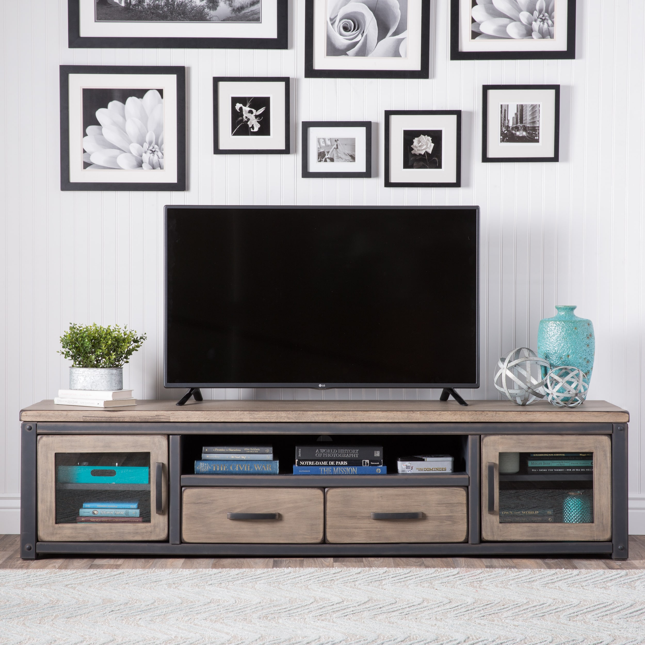 I Love Living Heritage Rustic Entertainment Center