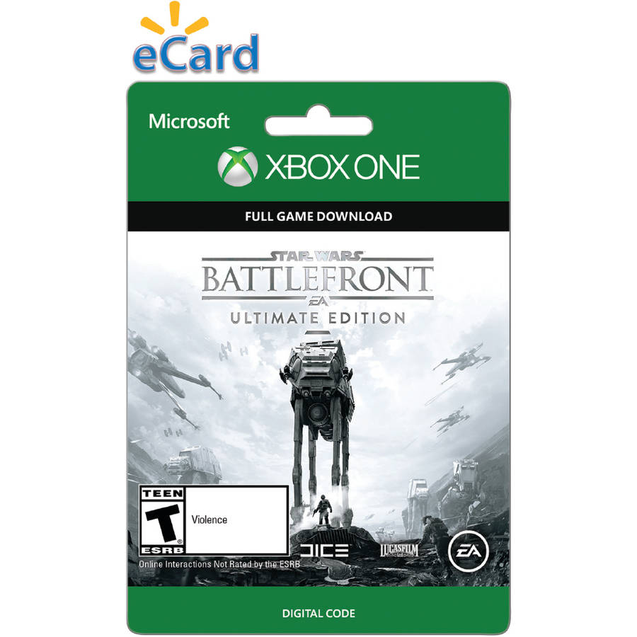 Star Wars Battle Front Ultimate (xbox On