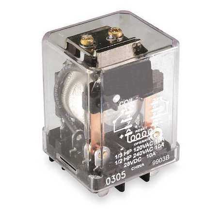 16 Amp DPDT Lot of 2 Dayton 1EHX8 Relay 120VAC