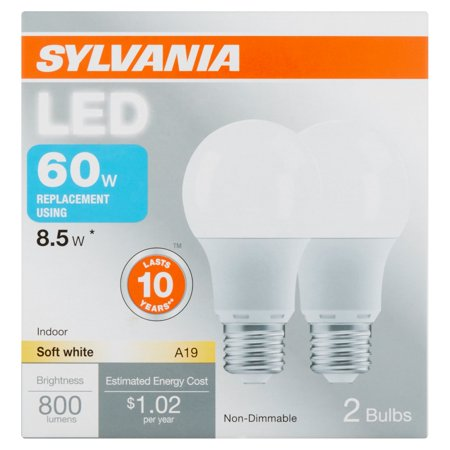 sylvania led 85w 60wt equiv 2 pack - Inventory Checker