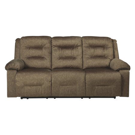 Pleasing Signature Design By Ashley Waldheim Power Reclining Sofa With Adjustable Headrest Gmtry Best Dining Table And Chair Ideas Images Gmtryco