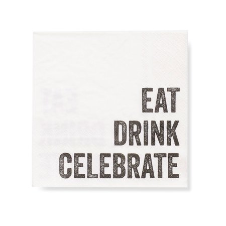 Gartner Studios Eat, Drink, Celebrate Napkins - Celebrate It Occasions