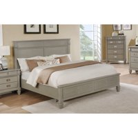 Roundhill Furniture York Storage Platform Bed