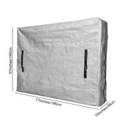 AIHOME Mattress Bags Waterproof Zippered Mattress Cover for Moving Storage