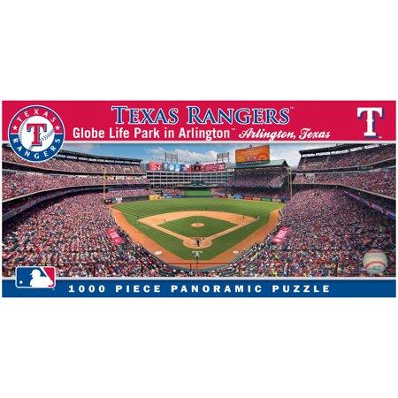 MasterPieces MLB Texas Rangers 1000 Piece Stadium (Baseball) Panoramic Jigsaw Puzzle ()