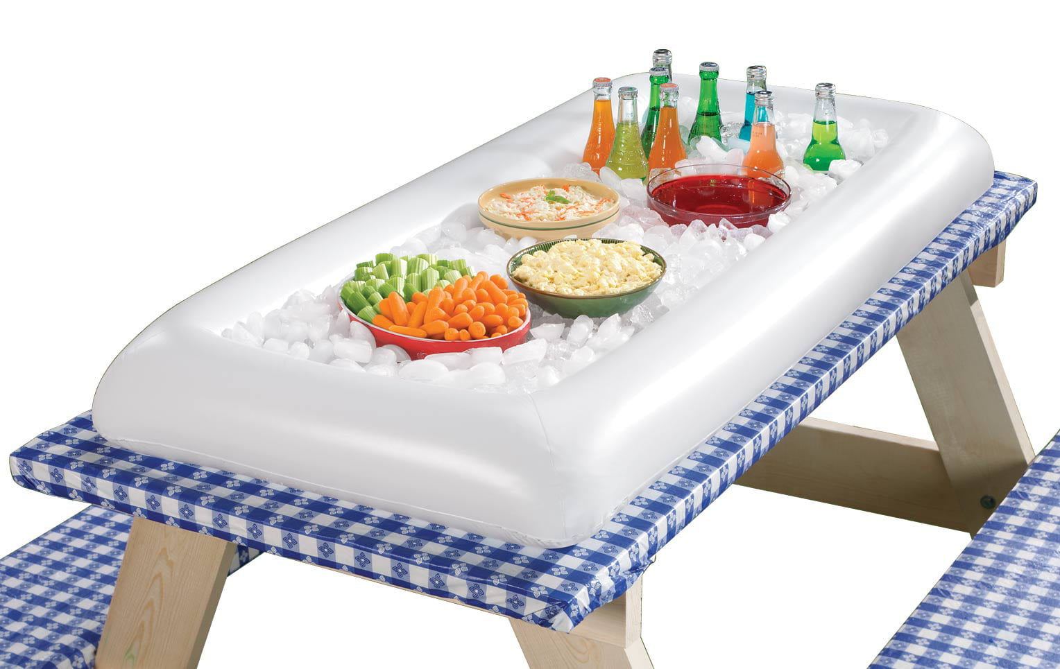 Inflatable Tabletop Ice Cooler Table Design Ideas